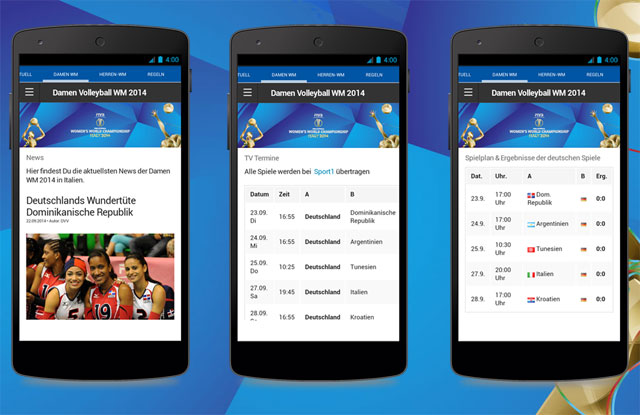 Volleyball App