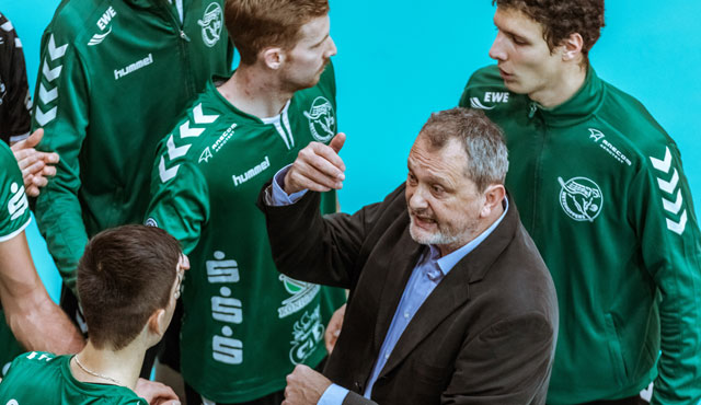 In das Berlin-Brandenburg Derby mit den BR Volleys gehen die Netzhoppers mit Vorfreude  - Foto: Gerold Rebsch