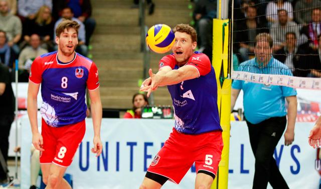 United Volleys müssen gegen Friedrichshafen in die Verlängerung - Foto: United Volleys/Gregor Biskup