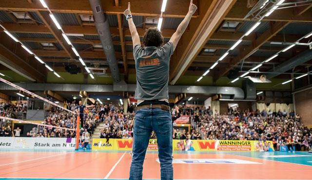 NawaRo Straubing bekommt das Go für die 1. Volleyball Bundesliga - Foto: Schindler