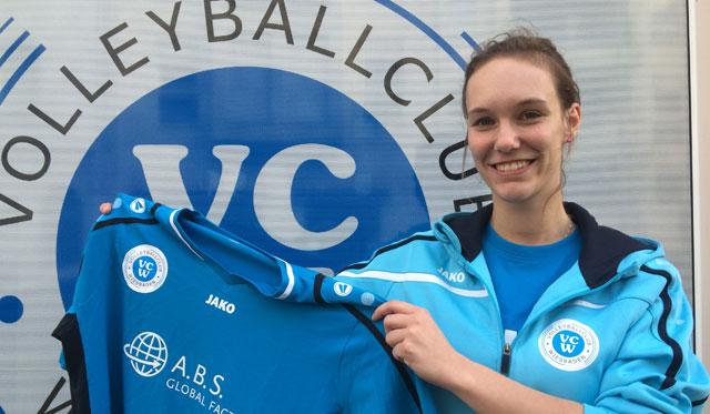 Lia-Tabea Mertens neue Zuspielerin beim VCW - Iveta Halbichová verlässt die Bundesliga - Foto: VCW