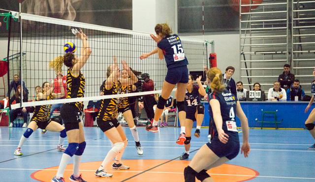 VCW verabschiedet sich aus Europapokal - Niederlage in Bukarest - Foto: Micha Spannaus/VCW