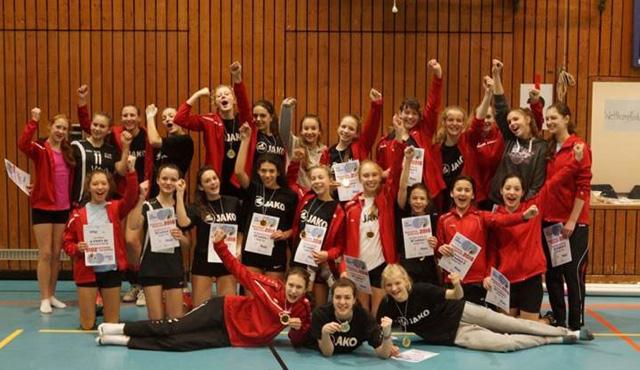 U16 weiblich wird Meister in Oberbayern - Foto: Schulze