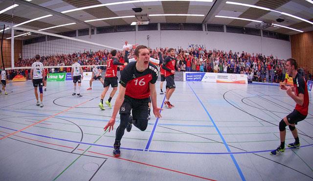 Der SSC Karlsruhe sichert sich vorzeitig den Meistertitel - Foto: Andreas Arndt