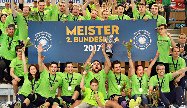 Saisonvorschau 2. Volleyball Bundesliga der Männer - Foto: Wolfgang Kubak