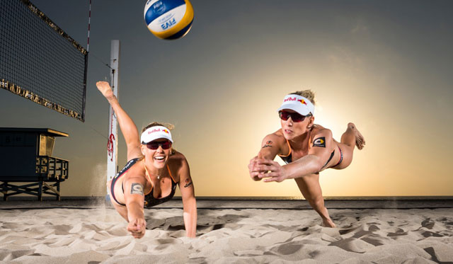 Karla Borger und Britta Büthe<br>Foto: Red Bull Contentpool/ Fotograph: Garth Milan