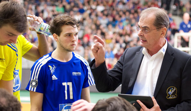 Moculescu verkündet Ruhestand - Foto: Günter Kram