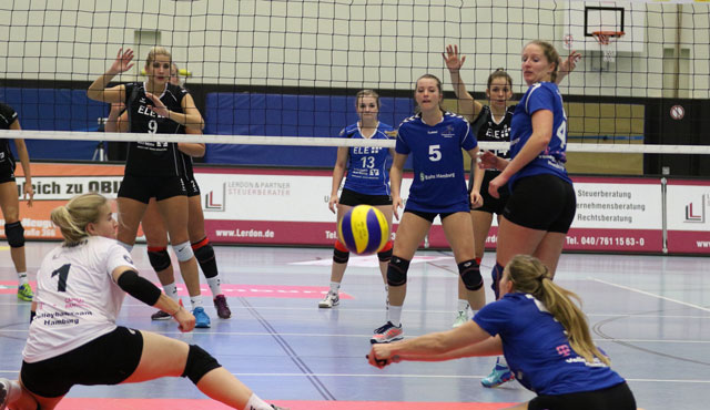 Volleyball-Team Hamburg festigt Platz in der Spitzengruppe - Foto: VTH/Lehmann