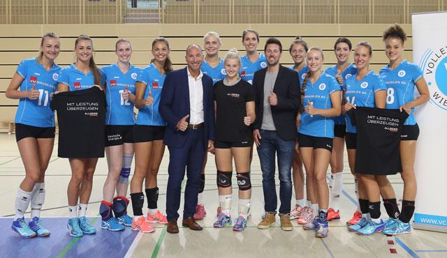 VC Wiesbaden kooperiert mit der Allgeier Experts Group - Foto: Detlef Gottwald