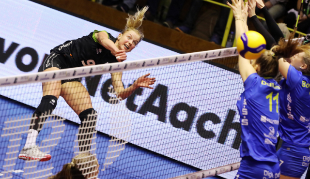 Ladies in Black starten am Samstag gegen den SC Potsdam - Foto: Ladies in Black Aachen // Andreas Steindl