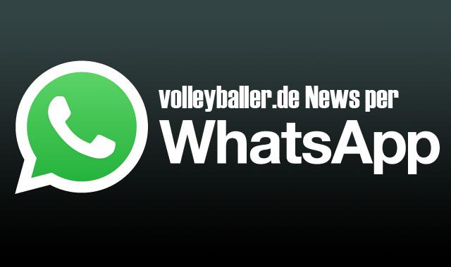 Der WhatsApp Service von volleyballer.de -