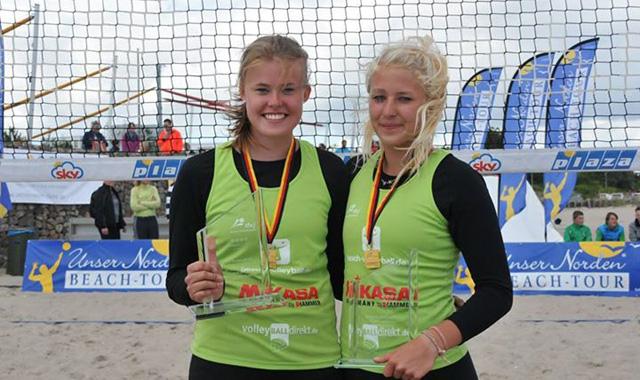 VCW-Duo Becker/ Henning räumt beim U17 Beach-Bundespokal ab - Foto: Daniel Schmidt