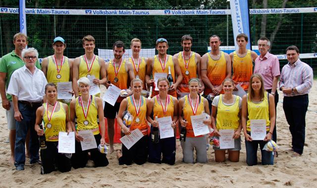 TuS Kriftel richtet Beach-Volleyball Hessenmeisterschaft im Rahmen des VoBa-Cups aus - Foto: TuS Kriftel