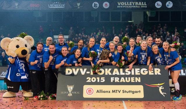 DVV-Pokalfinale: Titel gehen nach Baden-Württemberg - Foto: Conny Kurth