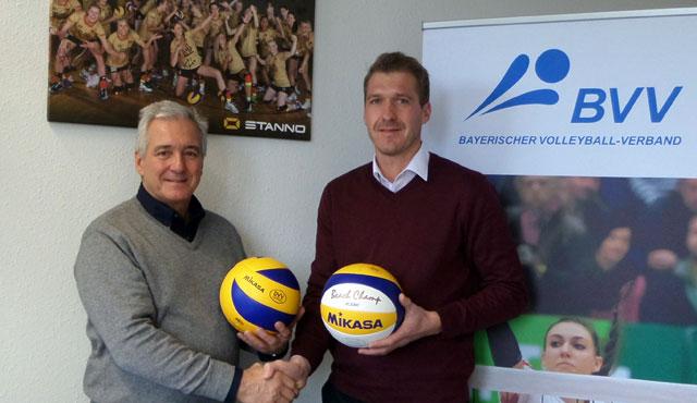"""""""Volleyball in Bayern positiv weiterentwickeln"""" - Foto: Bayrischer Volleyballverband"""