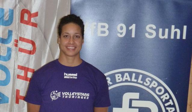 Jordanne Scott komplettiert VolleyStars-Kader - Foto: Sebastian Leipold, VolleyStars Thüringen