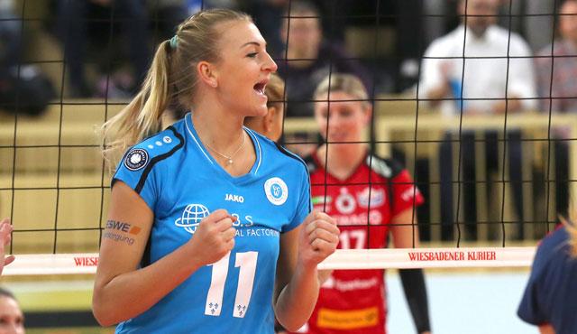 VCW verlängert mit Simona Kóšová: Mittelblockerin bleibt bis 2019 - Foto: Detlef Gottwald