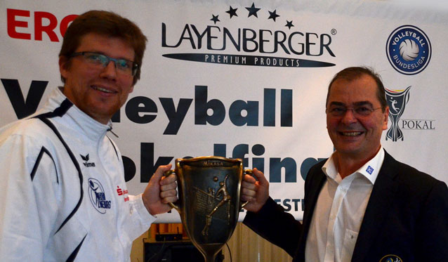 DVV-Pokalfinale: Lüneburg will seine Chance nutzen - Foto: DVS