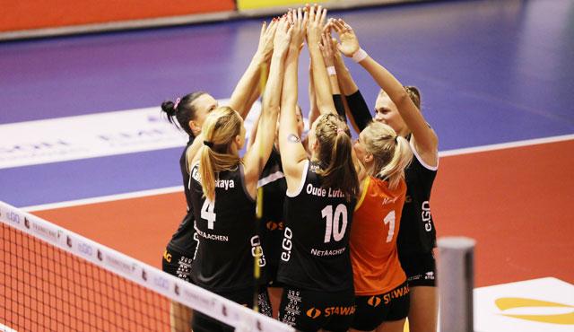 Aachen erwartet Stuttgart, Potsdam und Dresden - Foto: Ladies in Black