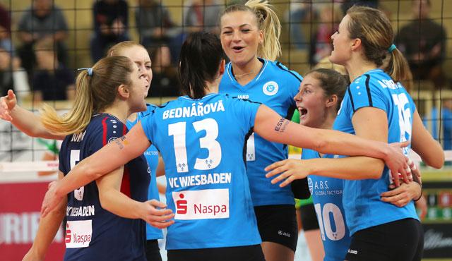 VC Wiesbaden holt drei Punkte in Köpenick  - Foto: Detlef Gottwald