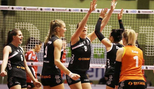 LiB Aachen gegen Vilsbiburg - nach dem Fest ist vor dem Fest - Foto: Ladies in Black Aachen