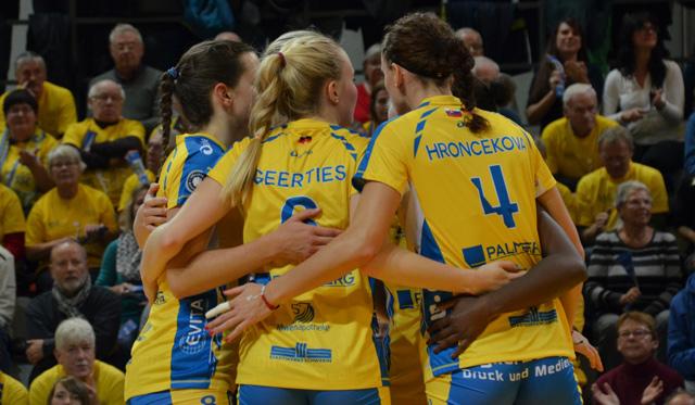 Schwerin startet mit einem Ausrufezeichen in die Saison - Foto: VBL