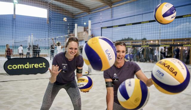 Karla Borger und Julia Sude<br>Foto: Joern Pollex
