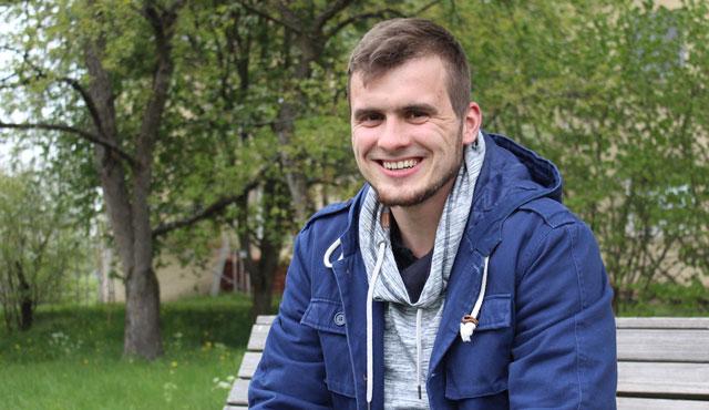 Philipp Jankowski verteilt auch 17/18 die Bälle beim TVR - Foto: TVR