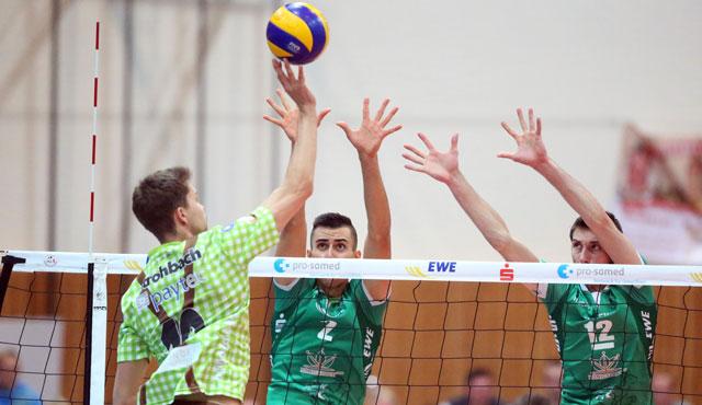 Netzhoppers verlieren gegen TSV Herrsching - Foto: Netzhoppers