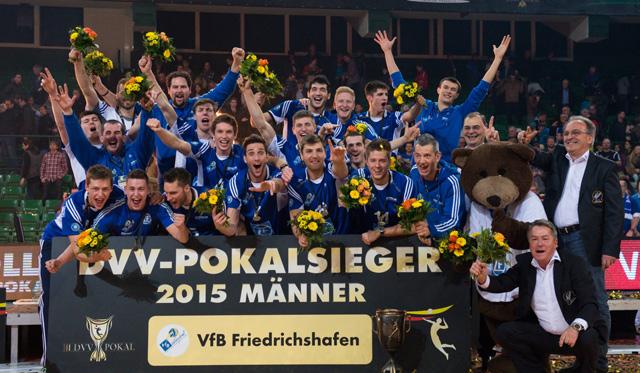 DVV-Pokal: Ansetzungen für das Achtelfinale fix - Foto: Conny Kurth