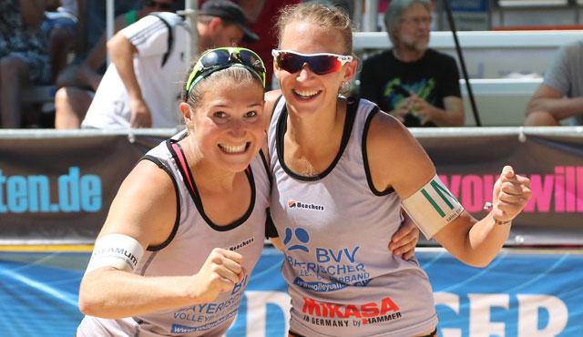 NawaRo Beach-Team gewinnt ohne Satzverlust in Kempten - Foto: Gerwig Löffelholz