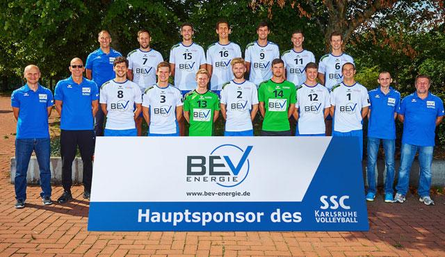 Der letzte Härtetest vor Liga 2 steht für die SSC Volleyballer bevor - Foto: SSC Karlsruhe Volleyball
