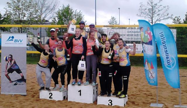 BVV Beach Masters Augsburg: Flessa/Grell feiern ersten Masters-Sieg – Doranth/Höfer bestätigen Favoritenrolle - Foto: BVV