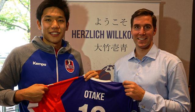 """Spektakulärer Neuzugang: United Volleys blasen zur """"Otake"""" - Foto: United Volleys"""