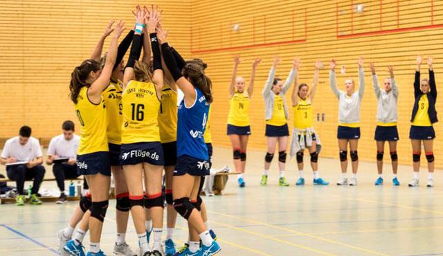 VT Hamburg bei DSHS SnowTrex Köln-Volleyballerinnen zu Gast - Foto: Martin Miseré