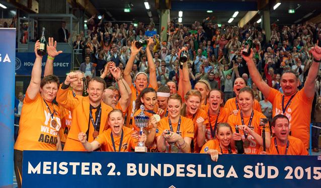 NawaRo Straubing nominiert als Mannschaft des Jahres 2014 in Niederbayern - Foto: German Popp
