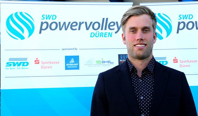 SWD powervolleys: Anton Brams wird neuer Trainer - Foto: SWD Powervolleys Düren