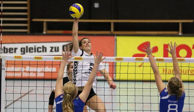 Volleyball-Team Hamburg siegt erneut mit 3-2 - Foto: VTH/Lehmann