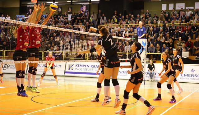 Meister und Pokalsieger Dresden zu stark für die Ladies in Black - Foto: Andreas Steindl