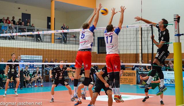 Netzhoppers holen drei Punkte aus zwei Spielen - Foto: Dagmar Jaschen