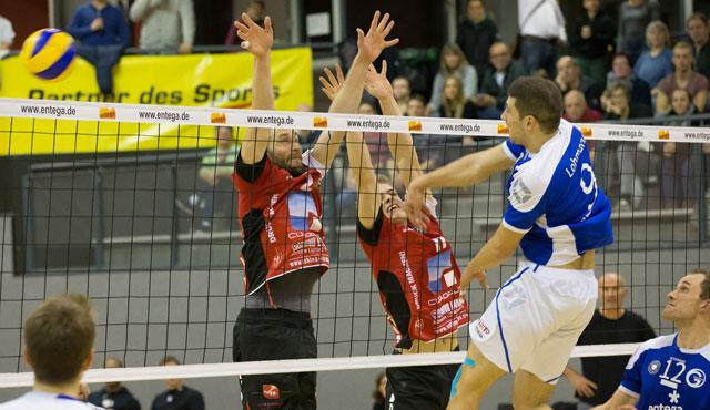 Mainzer spielten sich in einen Rausch - Foto: VC Eltmann / Oshino Volleys Eltmann
