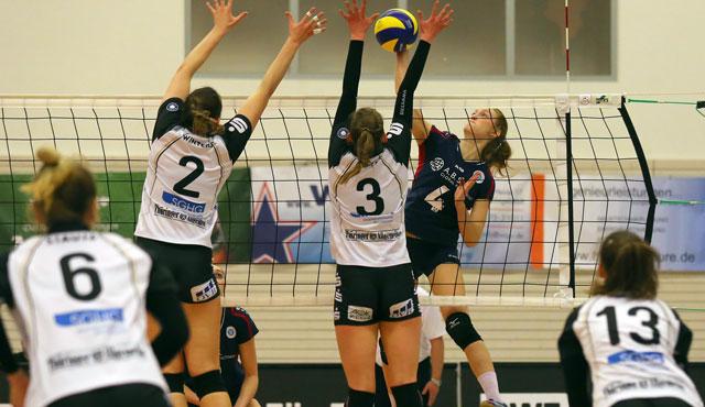 VCW mit Arbeitssieg in Erfurt - Potsdam nun Playoff-Gegner - Foto: Detlef Gottwald