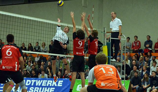 SSC Volleys empfangen den USC Konstanz - Foto: volleyball-karlsruhe.de