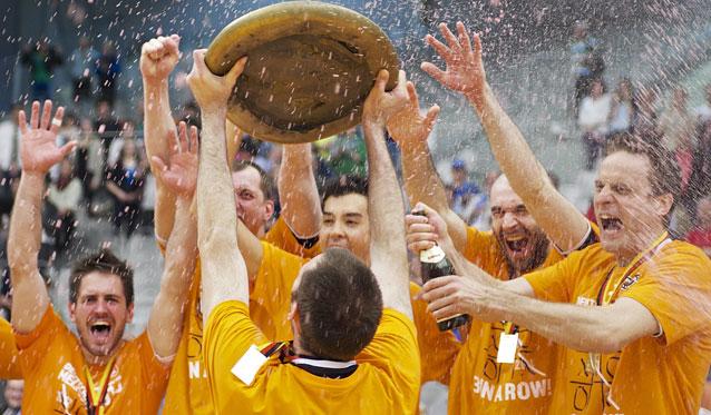 Erstes Traumfinale bei den Männern am 18. April - Foto: Günter Kram