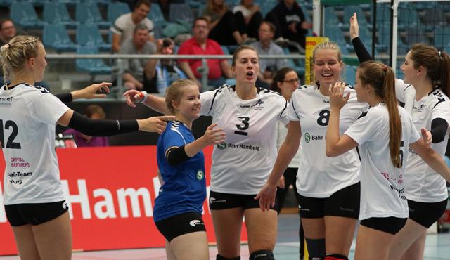"""Volleyball-Team Hamburg empfängt den """"Wolf im Schafspelz"""" zum Saisonauftakt - Foto: VTH/Lehmann"""
