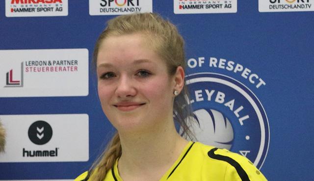 Volleyball-Team Hamburg verpflichtet Stina-Marie Schimmler - Foto:VTH/Lehmann