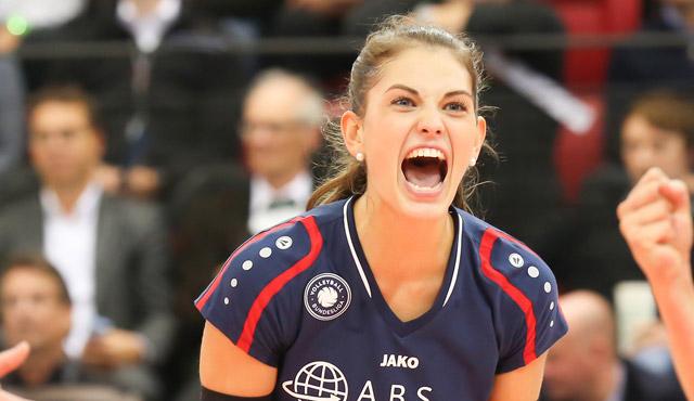 Annalena Mach verlängert beim VCW - Liz Hintemann vor Abschied - Foto: Detlef Gottwald