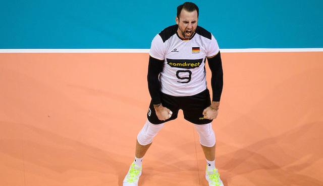 Georg Grozer war im ersten Spiel nicht zu stoppen<br>Foto: Conny Kurth / DVV