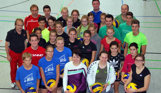 Jugendvolleyball-Event in Amberg war Werbung für den Volleyballsport - Foto: Roy Nanka