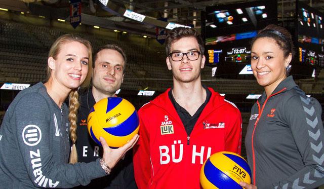 10.800 Tickets weg - jetzt wackelt der Rekord! - Foto: Nils Wüchner, www.volley-photo.de